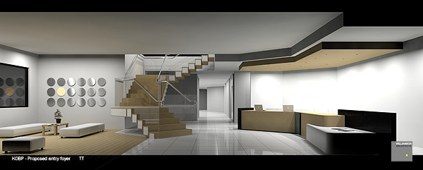 KOBP - Building 6 - Proposed foyer / lounge