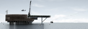 Ocean Platform Prison - Render