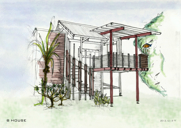 B HOUSE – Queenslander Extension